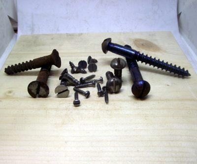 Slotted Steel Wood Screws