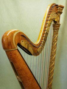 Erard Gothic Harp restoration