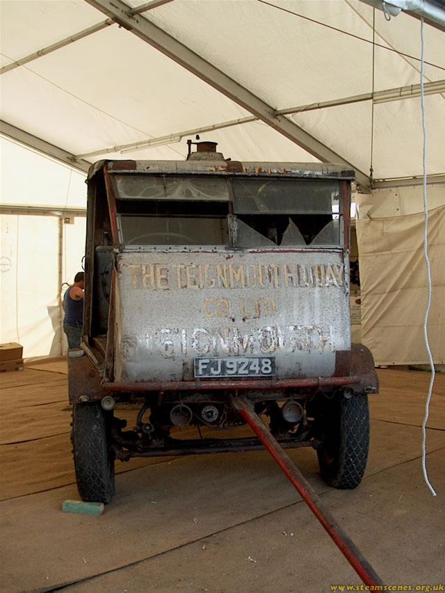 1933 Sentinel S4 Steam Waggon (affectionately known as The Lion). Derek Gransden- Kent, UK
