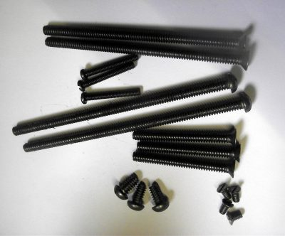 BSW Steel Machine Screws