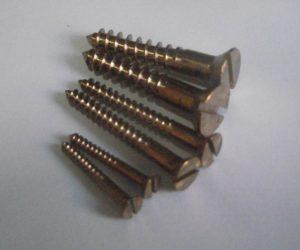 Marine Grade Silicon Bronze Wood Screws